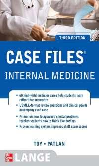 Case files internal medicine book