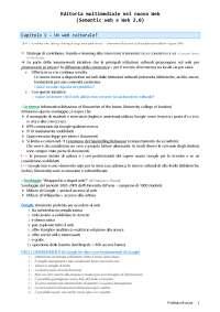 Riassunto di Editoria multimediale nel nuovo web (Francesco Tissoni)