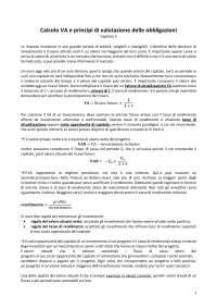 Riassunto esame finanza aziendale, libro consigliato: Principi di finanza aziendale, McGraw Hill ed. 7