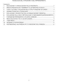 Domande Tecnologie dell'istruzione Uni Pegaso 24 cfu