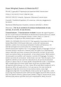 tesina sociologia della comunicazione