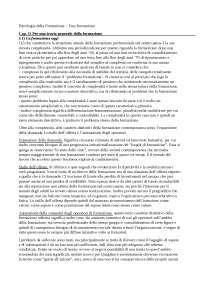 Psicologia della Formazione - Fare formazione