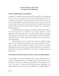 Constitution Law Notes- Kenya