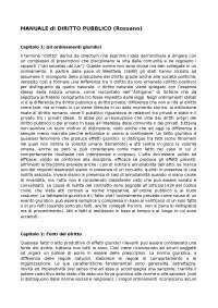 """Riassunti DIRITTO PUBBLICO - ROSSANO // Università degli Studi di Napoli """"Parthenope"""""""