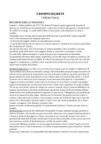 Crimini segreti - maltrattamento e violenza alle donne nella relazione di coppia. Giuliana Ponzio
