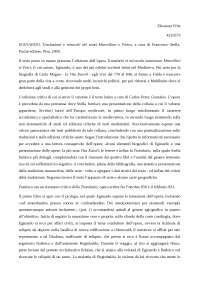 Recensione critica di Eginardo, Translatio et miracula sanctorum Marcellini et Petri
