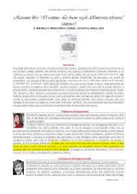 """RIASSUNTO LIBRO """"IL VESTITINO. LE BUONE REGOLE DELL'INTERVISTA TELEVISIVA"""" (SINTETICO). SIMONELLI, ANNECCHINO, CORAZZI. L'ORNITORINCO. MILANO. 2014"""