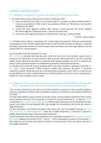 Risposte domande primo parziale macroeconomia - G. Bertocco - università degli studi dell'Insubria