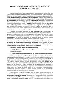 tema 2 Argumentación jurídica