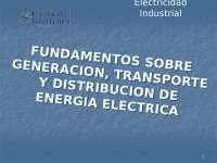 Maquinas electricas, funcionamiento y conceptos