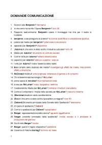 domande e risposte dell'esame di comunicazione multimediale - BITTANTI (iulm)