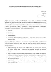 relazione prof. giannone