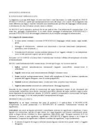 linguistica generale berruto cerruti utet, Appunti di Linguistica