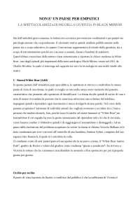 Paper Black Mirror sulla spettacolarizzazione della giustizia - Università La Sapienza