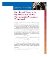 Demand for money and the classical quantity theory of money