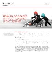 DevOps and Legacy Application