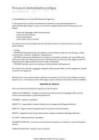 DITALS I_Principi di Glottodidattica