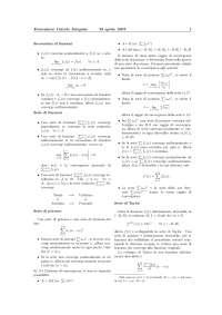 Formulario Calcolo Integrale