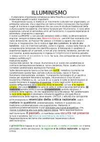 ILLUMINISMO e parte di Montesquieu