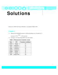 CMOS LOGIC DESIGN 4e Solutions Manual