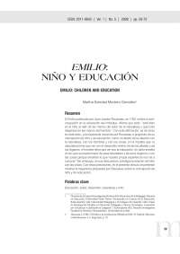 Emilio, o de la educación-Rousseau