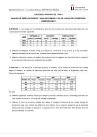 EJERCICIOS ESTADISTICA INDICES