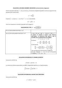 schema eq differenziali