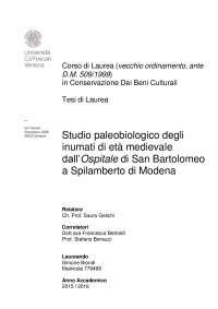 Studio paleobiologico