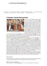 il paradiso guida e introduzione