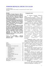 sindorm obstructivo bronquial