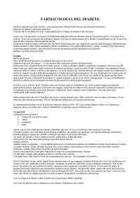 FARMACOLOGIA DEL DIABETE