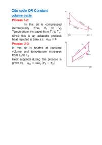 Otto Cycle Effective Pressure