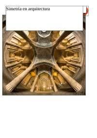 Simetria en la arquitectura