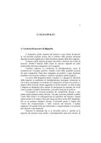 Schemi e grafici dell' oligopoiio