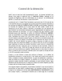 FORMATO DEL CONTROL DE LA DETENCIÓN
