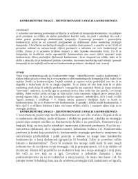 Konkurentske snage-IDENTIFIKOVANJE I ANALIZA KONKURENATA