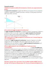Domande esame istituzioni di economia