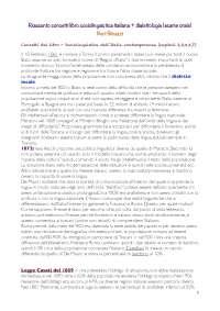 Riassunto Sociolinguistica dell'Italia Contemporanea (D'Agostino) + dialettologia appunti
