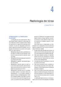 Imagenología de Tórax