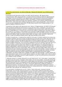 INTERSOGGETTIVITA' ORIGINI E PRIMI SVILUPPI