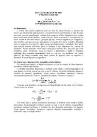 Reações Orgânicas para Enem - Reações Orgânicas - Química Orgânica