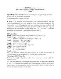 computer graphics notes for undergraduates
