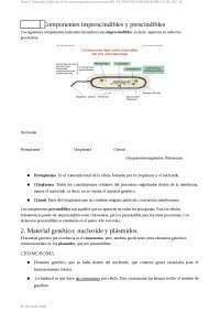 Tema 2: Estructura y función de los microorganismos procariotas (III): EL PROTOPLASMA