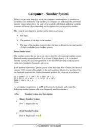 Computational maths for beginners full notes