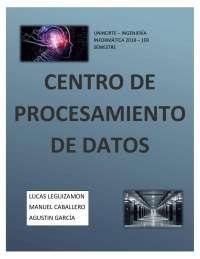 Centro de procesamiento de datos