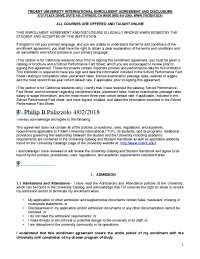 enrollment agreement copy