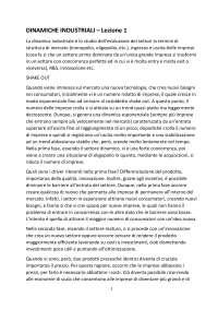 Trascrizione Dinamiche industriali Rullani-Meliciani