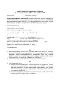 Umowa o przeniesienie praw autorskich, Projekty, Poradnik, Wyszukiwanie'z Prawo Umów