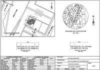 Ejemplo plano de localización y ubicación