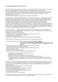Dal New Public Management al New Public Service nel processo di riforma della scuola italiana